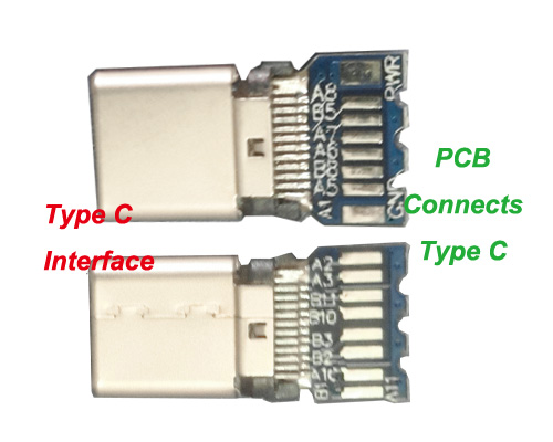 Type C Connector Connect PCB
